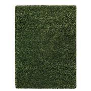 ВИНДУМ Ковер, длинный ворс, зеленый, 170x230 см
