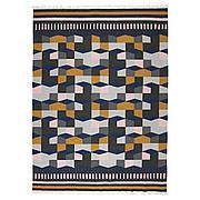 ТОРБЭК Ковер безворсовый, разноцветный ручная работа, разноцветный, 170x240 см