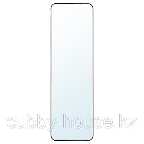 ЛИНДБЮН Зеркало, черный, 40x130 см, фото 2