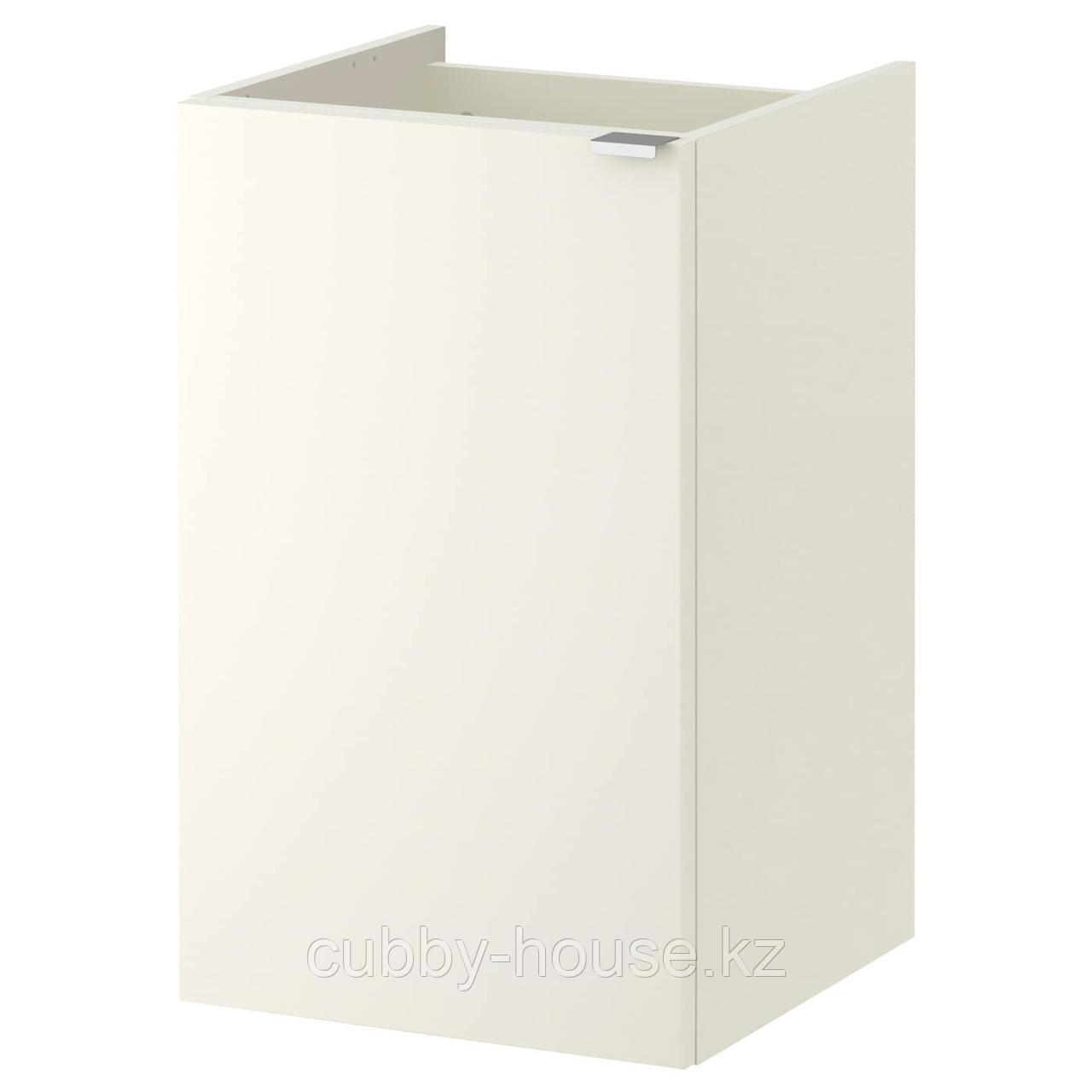 ЛИЛЛОНГЕН Шкаф под раковину с 1 дверцей, белый, 40x38x64 см