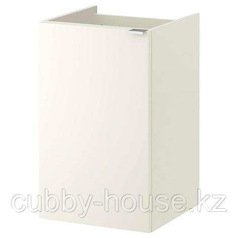 ЛИЛЛОНГЕН Шкаф под раковину с 1 дверцей, белый, 40x38x64 см, фото 2