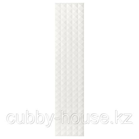 ВИНГРОМ Дверца с петлями, Решён белый, 50x229 см, фото 2