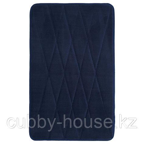 УППВАН Коврик для ванной, темно-синий, 50x80 см, фото 2