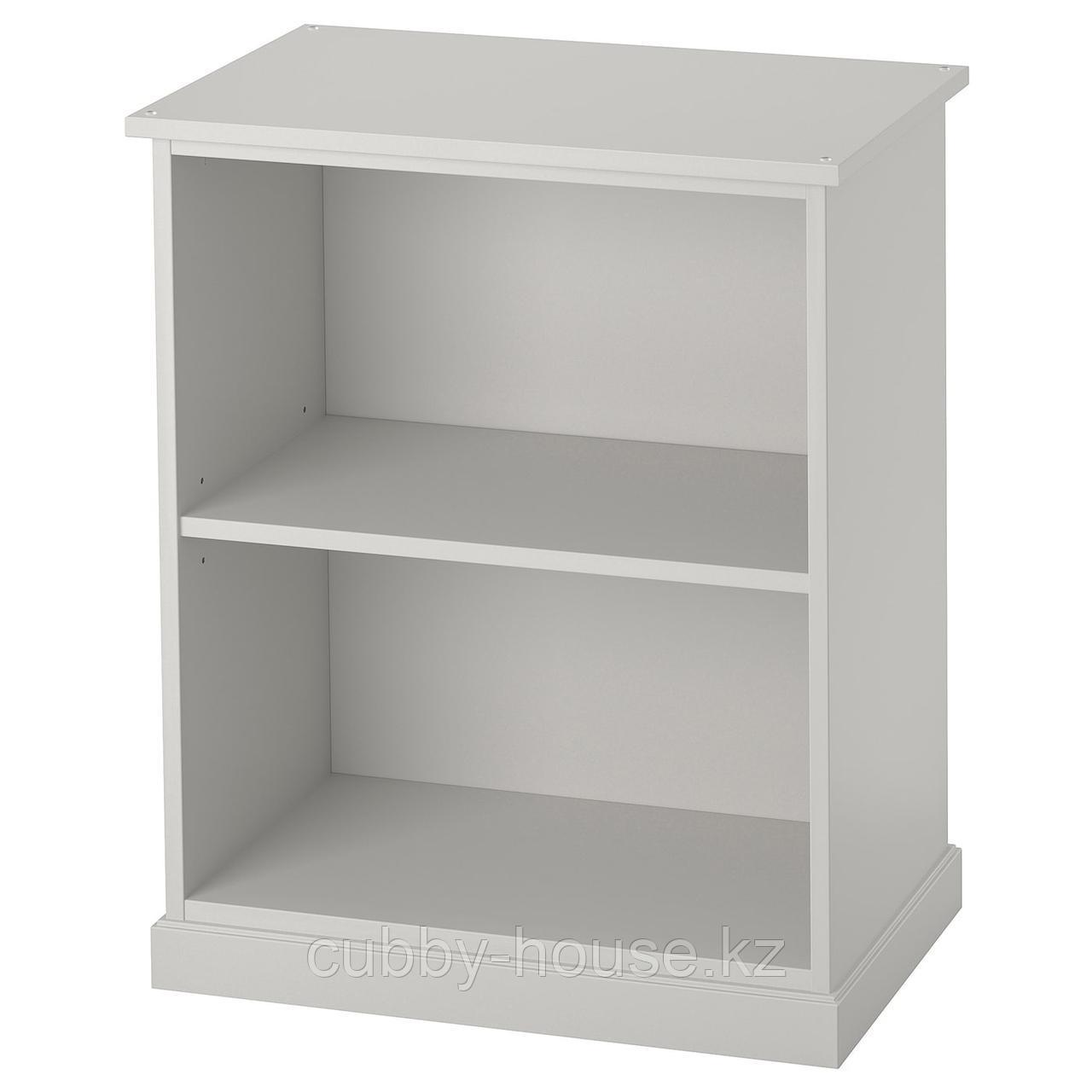КЛИМПЕН Опора-модуль для хранения, светло-серый серый, 58x70 см