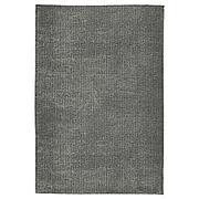 ЛАНГСТЕД Ковер, короткий ворс, светло-серый, 60x90 см