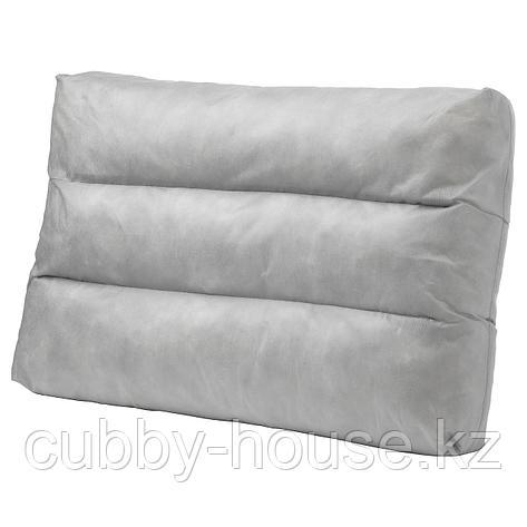 ДУВХОЛЬМЕН Внутренняя подушка д/подушки спинки, для сада серый, 62x44 см, фото 2