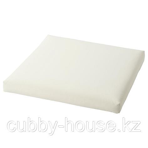 КУДДАРНА Подушка на сиденье,д/садовой мебели, бежевый, 62x62 см, фото 2