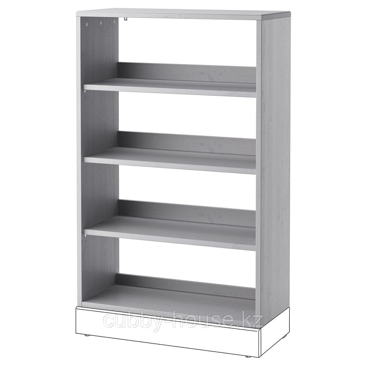 ХАВСТА Стеллаж, белый, 81x35x123 см