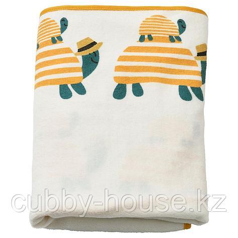 СКЁТСАМ Чехол на пеленальную подстилку, черепаха, 83x55 см, фото 2