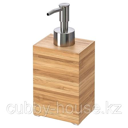 ДРАГАН Дозатор для жидкого мыла, бамбук, фото 2