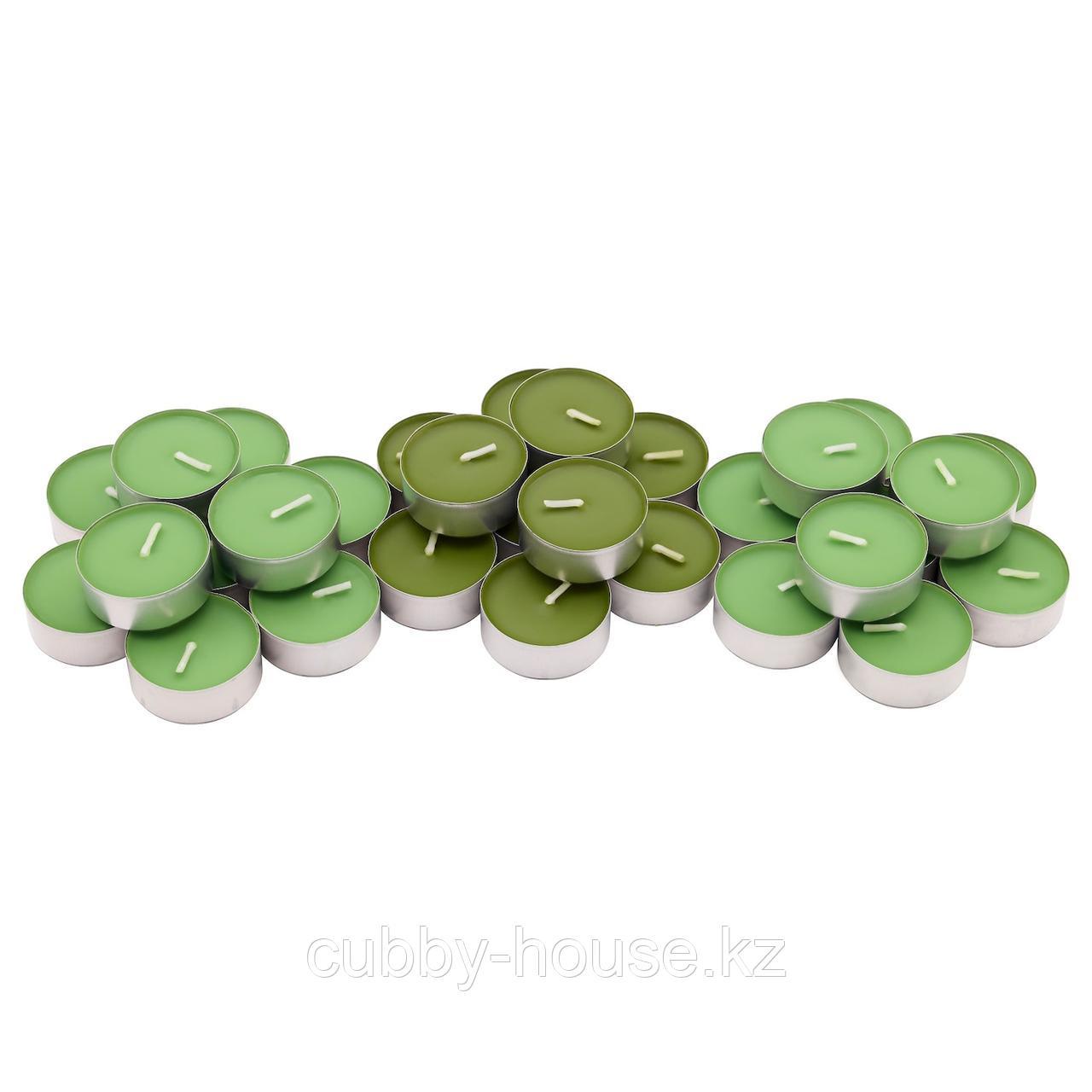 СИНЛИГ Свеча греющая ароматическая, Яблоко и груша, зеленый
