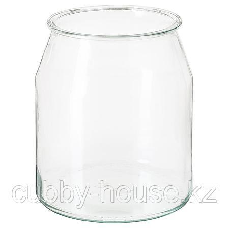 ИКЕА/365+ Банка, круглой формы, стекло, 3.3 л, фото 2