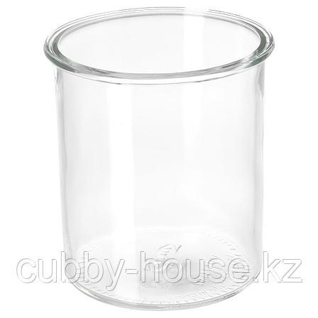 ИКЕА/365+ Банка, круглой формы, стекло, 1.7 л, фото 2