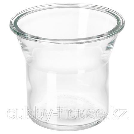 ИКЕА/365+ Банка, круглой формы, стекло, 1.0 л, фото 2