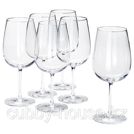 СТОРСИНТ Бокал для красного вина, прозрачное стекло, 68 сл, фото 2