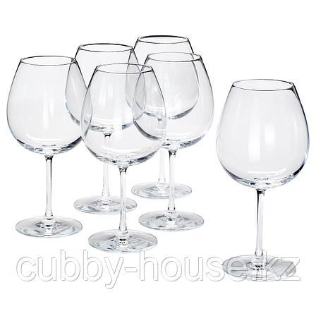 СТОРСИНТ Бокал для красного вина, прозрачное стекло, 67 сл, фото 2
