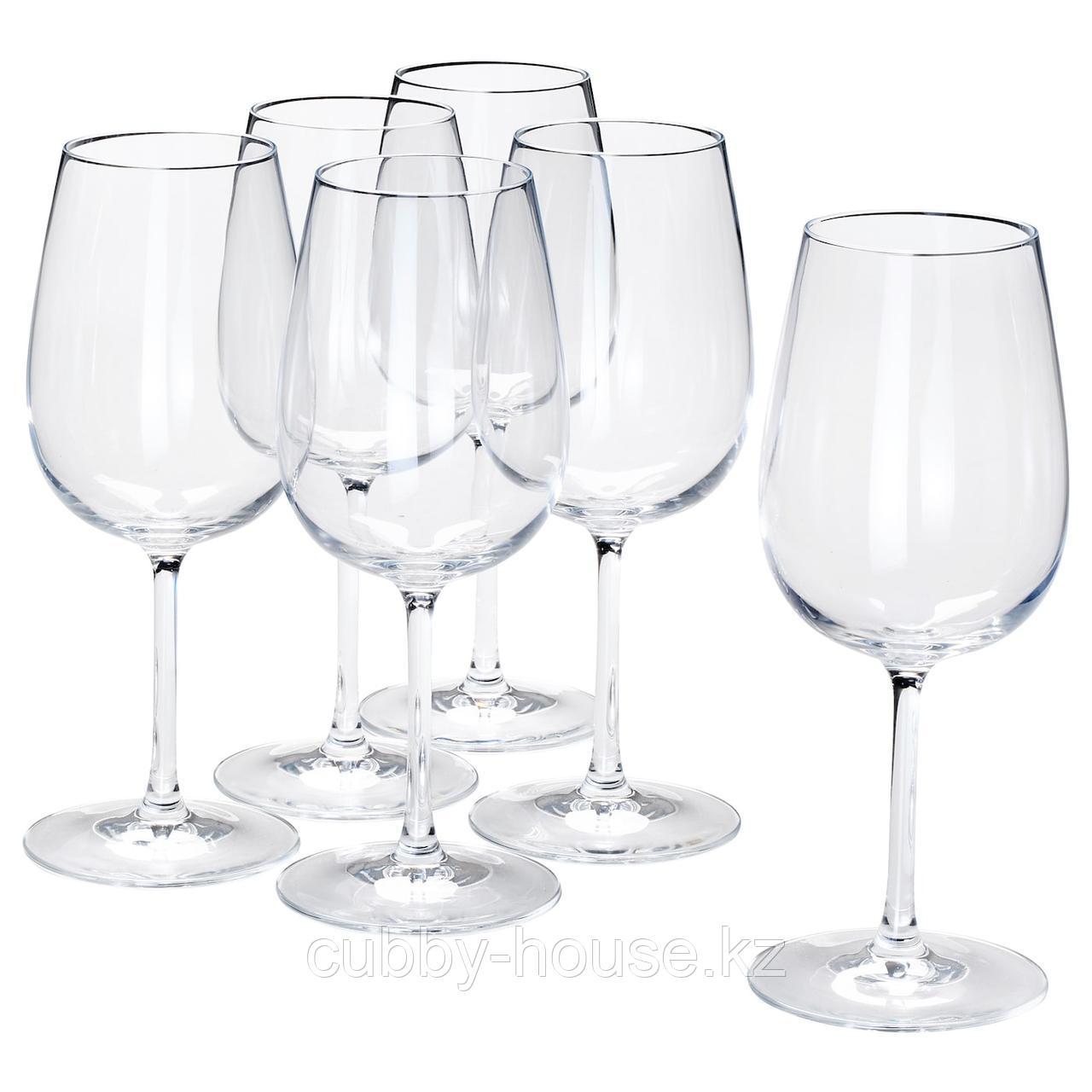 СТОРСИНТ Бокал для вина, прозрачное стекло, 49 сл