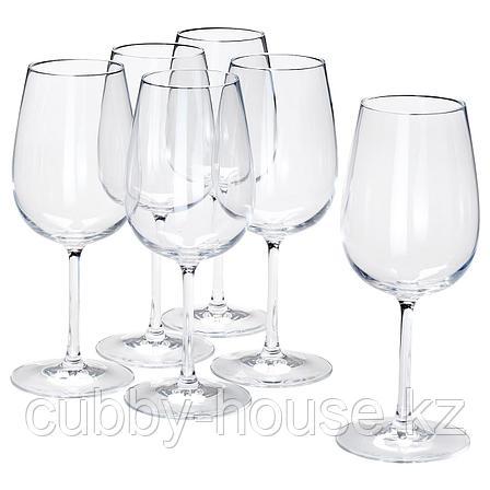 СТОРСИНТ Бокал для вина, прозрачное стекло, 49 сл, фото 2