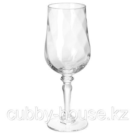 КОНУНГСЛИГ Бокал для вина, прозрачное стекло, 40 сл, фото 2