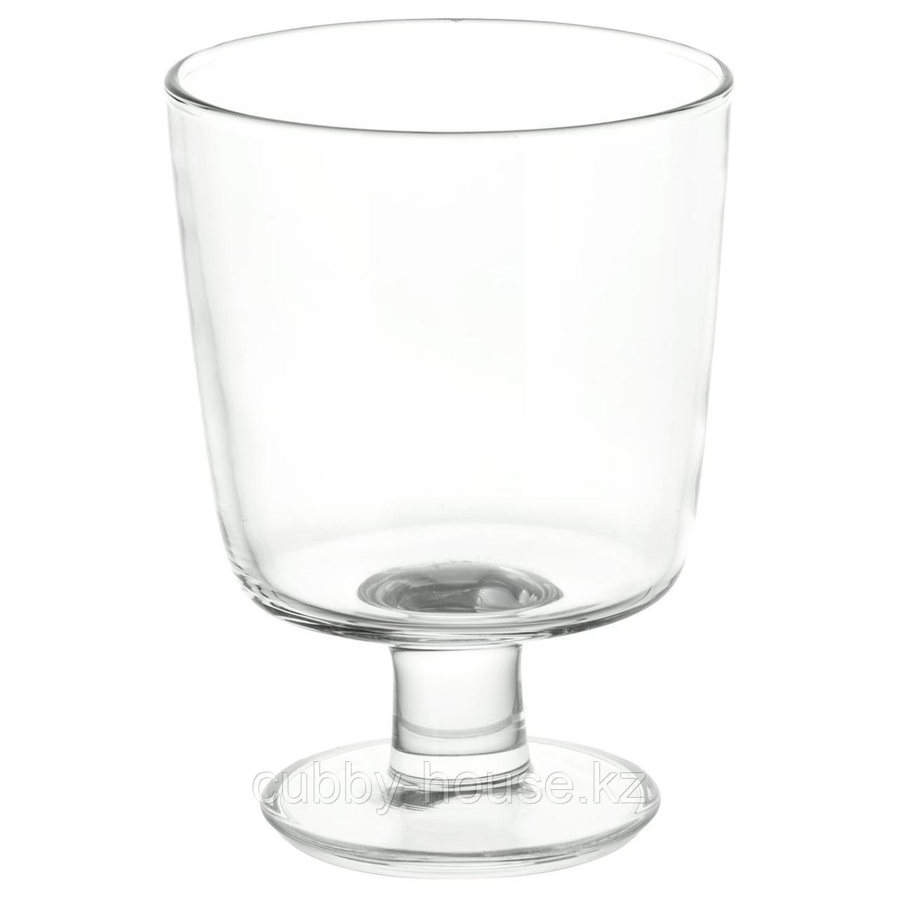 ИКЕА/365+ Бокал, прозрачное стекло, 30 сл
