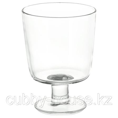 ИКЕА/365+ Бокал, прозрачное стекло, 30 сл, фото 2