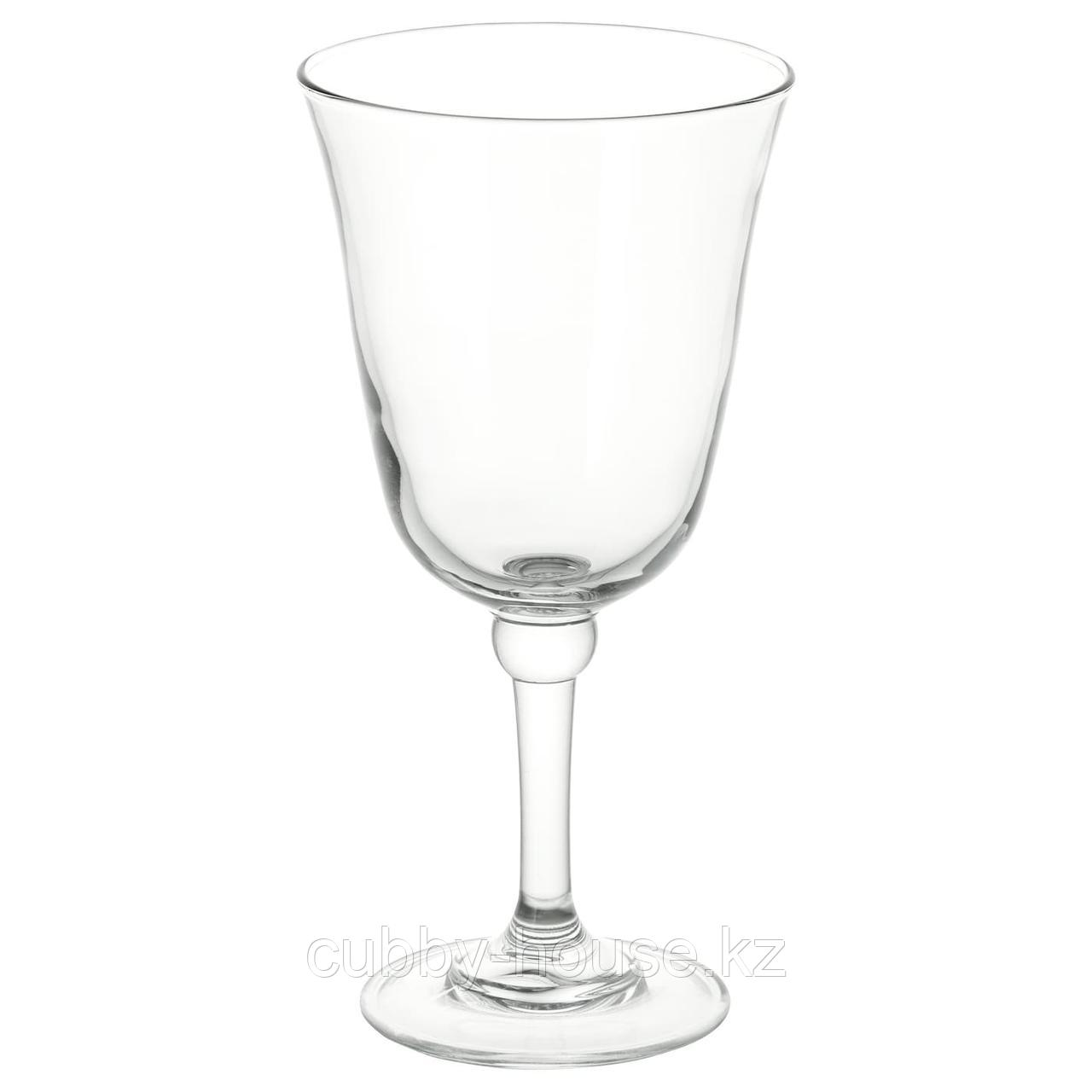 ФРАМТРЭДА Бокал для вина, прозрачное стекло, 30 сл