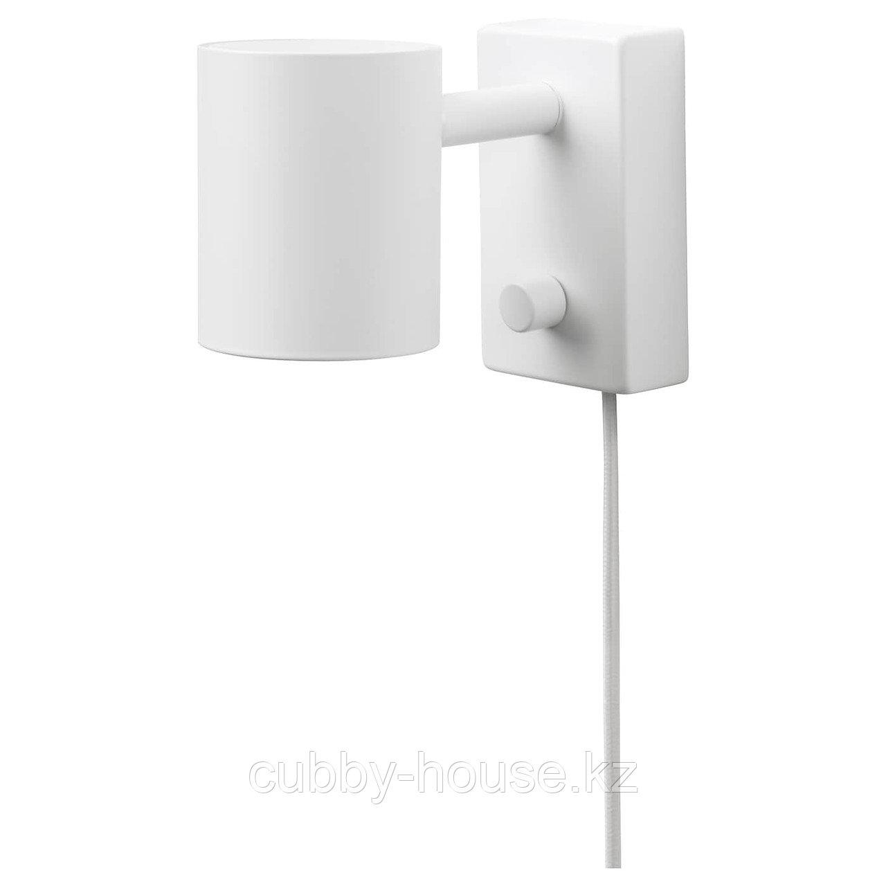 НИМОНЕ Бра/лампа для чтения, белый