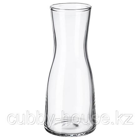 ТИДВАТТЕН Ваза, прозрачное стекло, 14 см, фото 2