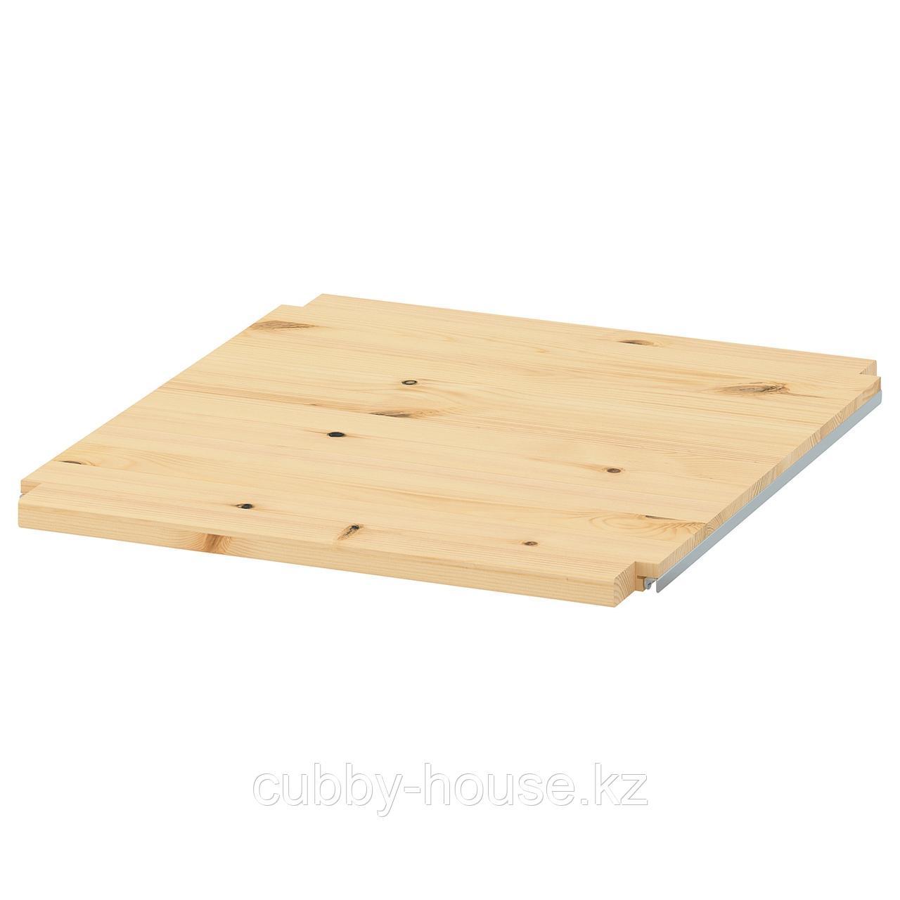 ИВАР Полка, сосна, 42x50 см