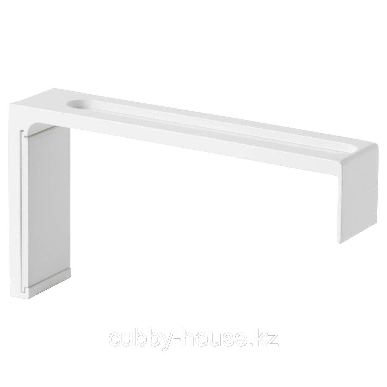 ВИДГА Стенной крепеж, белый, 12 см