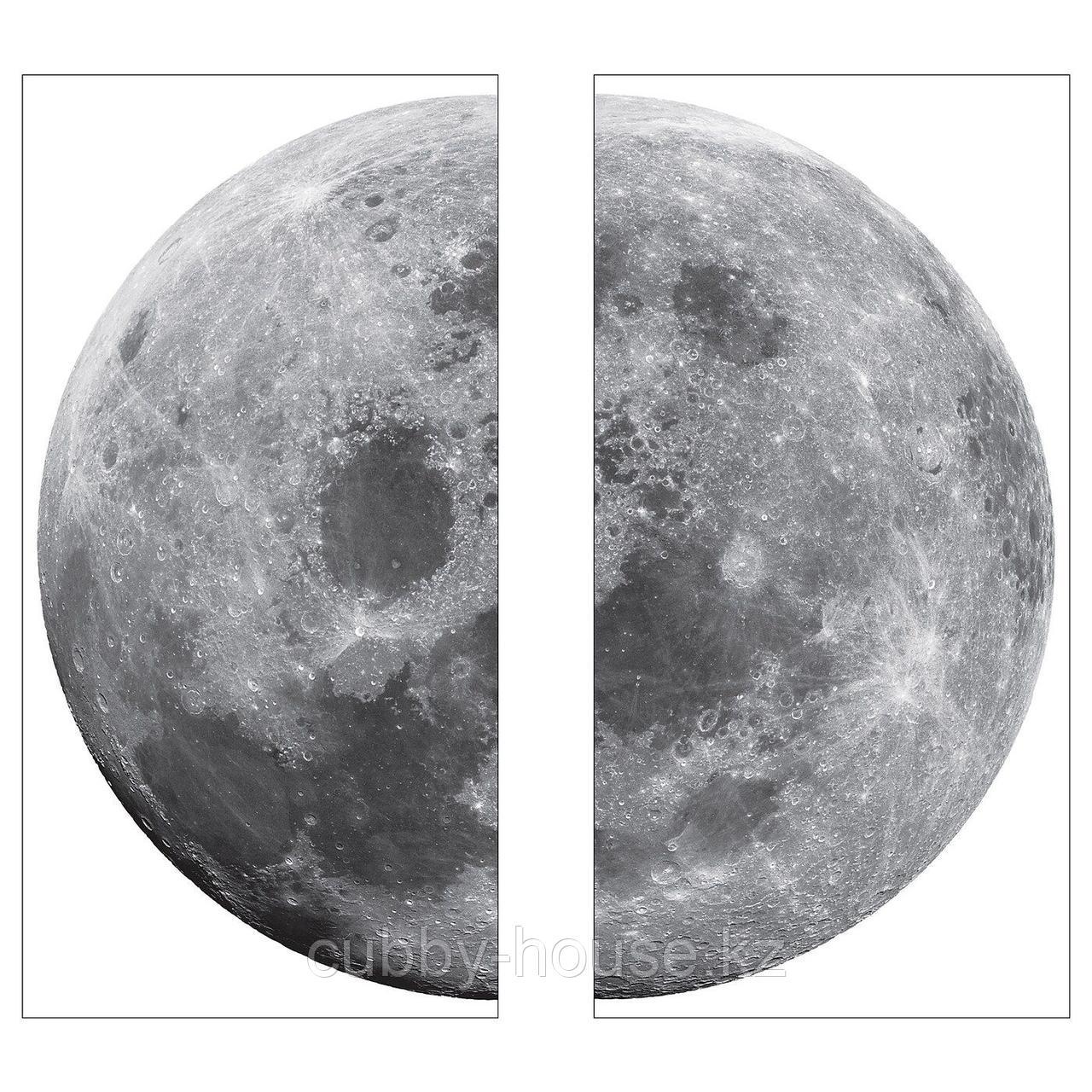 КИННАРЕД Декоративные наклейки, луна