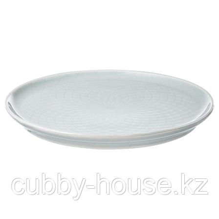 КРУСТАД Тарелка десертная, светло-серый, 16 см, фото 2