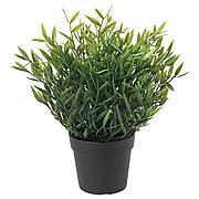 ФЕЙКА Искусственное растение в горшке, д/дома/улицы Комнатный бамбук, 9 см