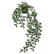 ФЕЙКА Искусственное растение в горшке, д/дома/улицы, подвесной, 9 см