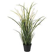 ФЕЙКА Искусственное растение в горшке, д/дома/улицы украшение, трава, 9 см