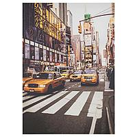 ПЬЕТТЕРИД Картина, Такси Нью-Йорка, 70x100 см