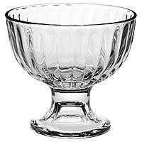 ДИСТРИКТ Миска десертная, прозрачное стекло, 11 см