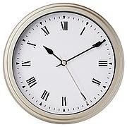 ВИСШАН Настенные часы, бежевый, 30 см