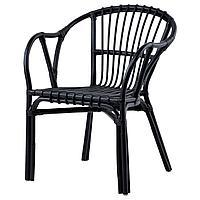 ХОЛЬМСЕЛЬ Кресло, черный
