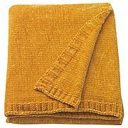 МИАЛОТТА Плед, желтый, 130x170 см