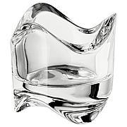 ВЭСНАС Подсвечник для греющей свечи, прозрачное стекло, 6 см