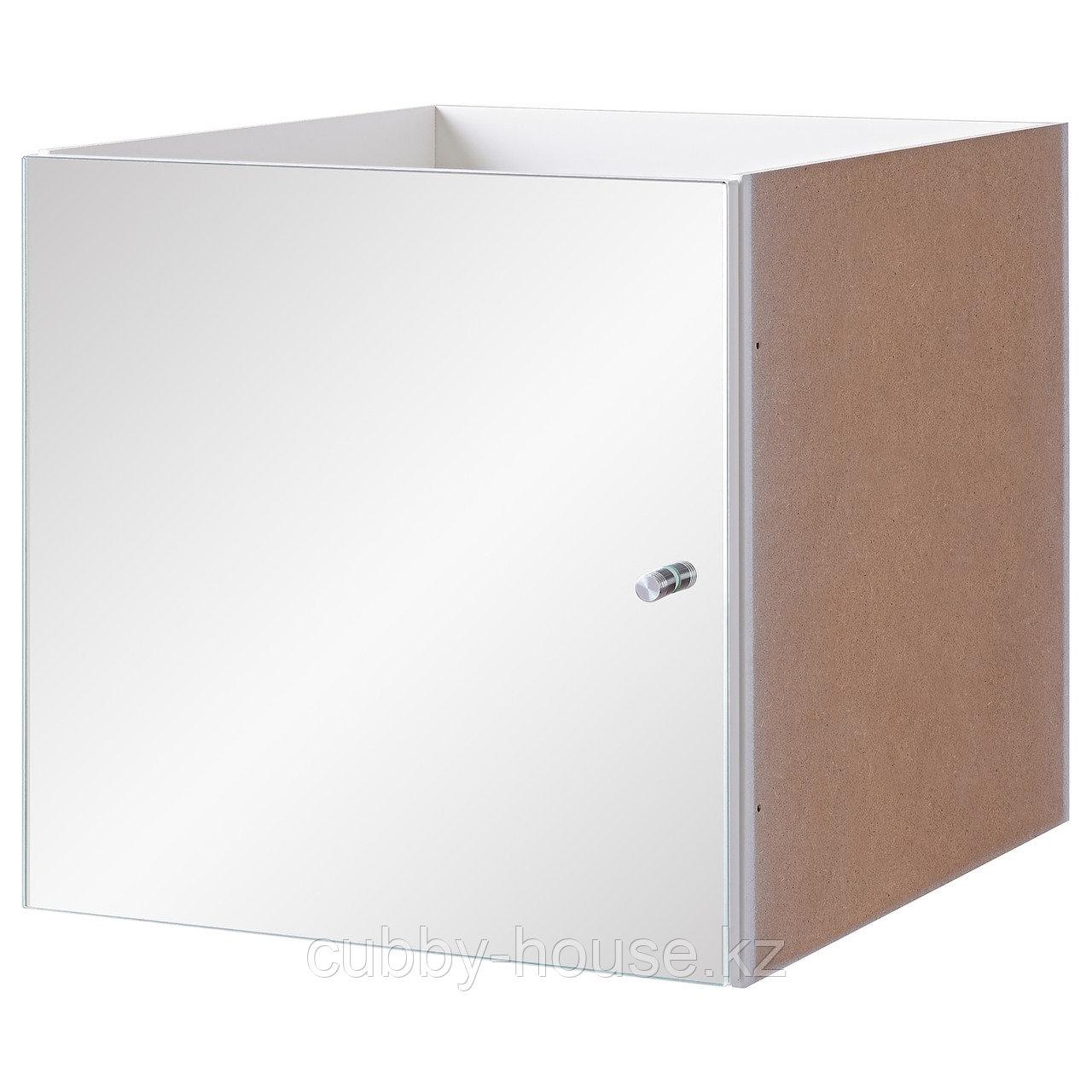 КАЛЛАКС Вставка с зеркальной дверцей, 33x33 см