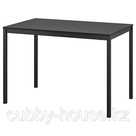 ТЭРЕНДО Стол, черный, 110x67 см, фото 2