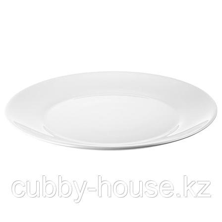 ОФТАСТ Тарелка, белый, 25 см, фото 2