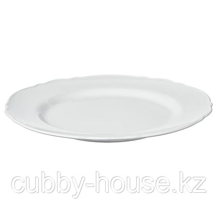 УППЛАГА Тарелка, белый, 28 см, фото 2