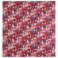 МОЛАРБОРСТЕ Ткань, красный, разноцветный, 150 см