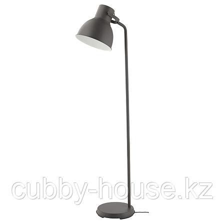 ХЕКТАР Светильник напольный, темно-серый, фото 2