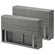 СОЛЛЕРОН Подлокотник для садовой мебели, темно-серый