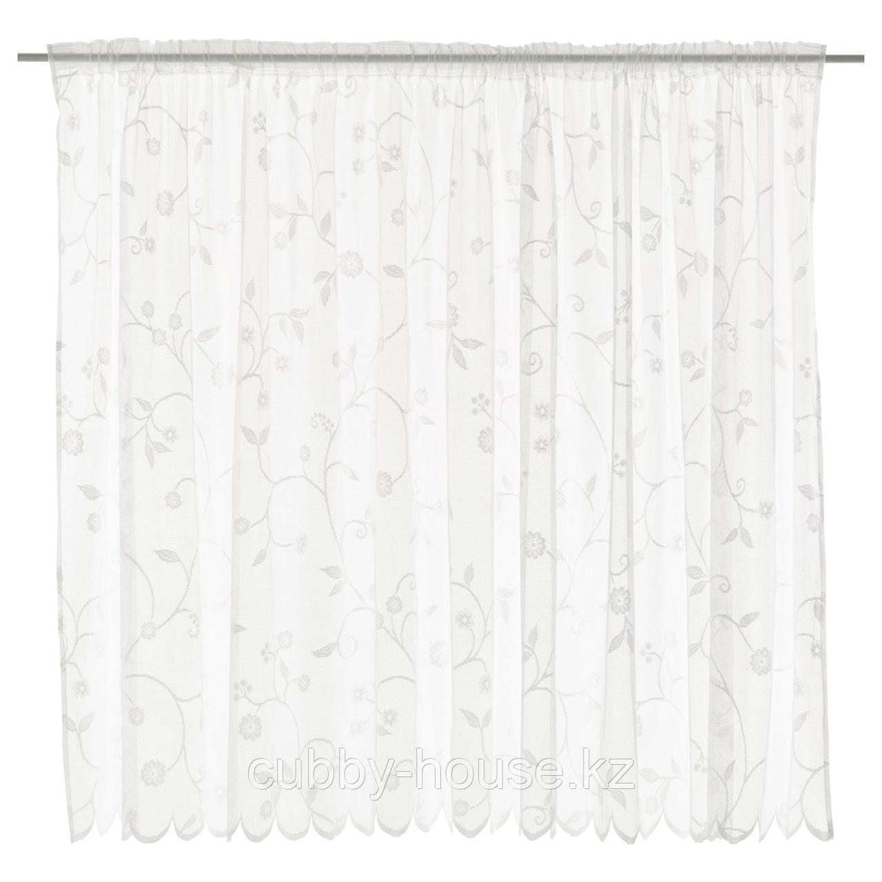 РОТФИБЛА Гардина, белый с оттенком, 300x165 см