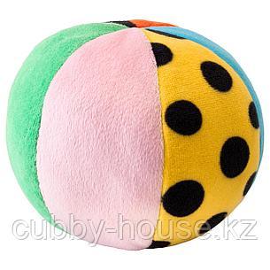 КЛАППА Мягкая игрушка,мяч, разноцветный, фото 2
